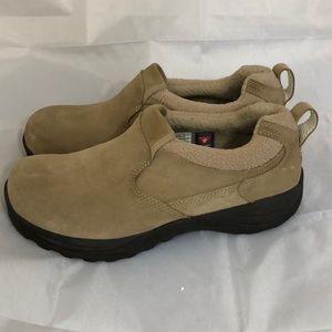 LL bean slip on Tan shoes